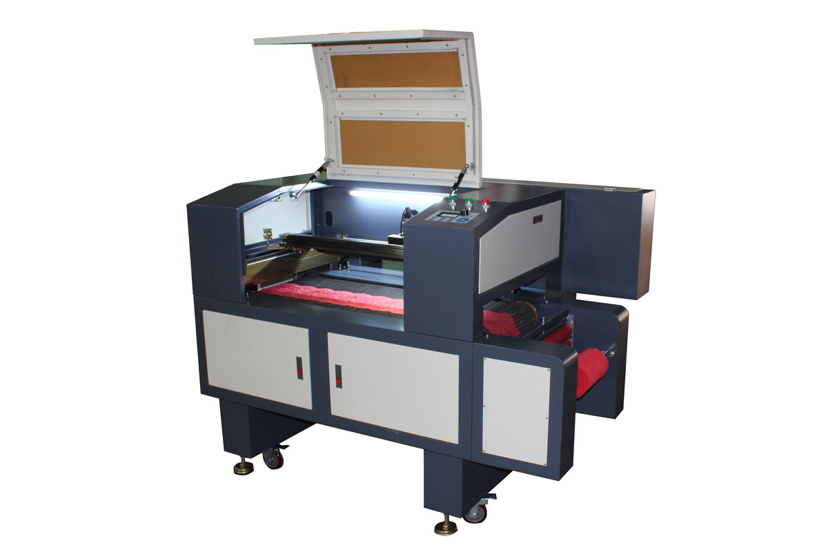 ETS-960LF model Lace Material Laser Cutter